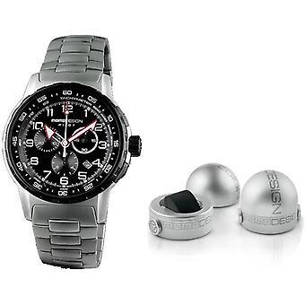 Momo design watch pilot pro chrono quarzo md2164ss-40