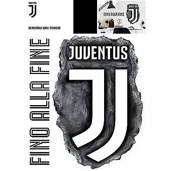 Juventus FC Crest Official Wall Art Sticker (Pack of 2)