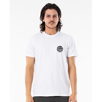 Rip Curl Men't-shirt ~ Wettie Essential branco