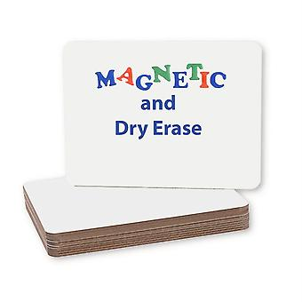 """Magnetic Dry Erase Board, 9"""" X 12"""", Packung mit 12"""