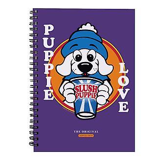 Slush Puppie Love Cartoon Spiral Notebook