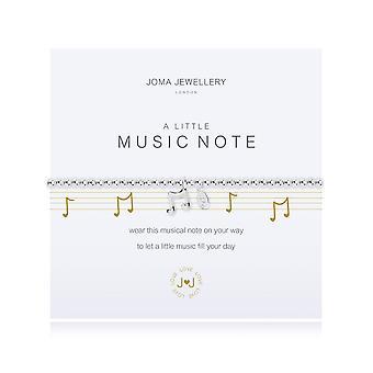 Joma smykker lidt musik note armbånd 2271