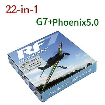 22 In 1 Rc Simulator 22in1 Usb Simulator For Realflight Support G7.5 G7 G6.5 G5