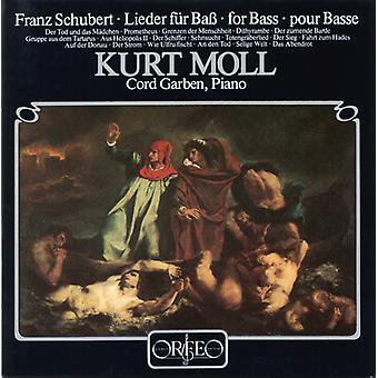 F. Schubert - Schubert: Lieder for Bass [CD] USA import