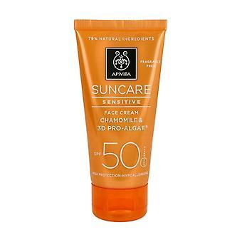 Sensitive Skin Facial Sun Cream SPF50 50 ml
