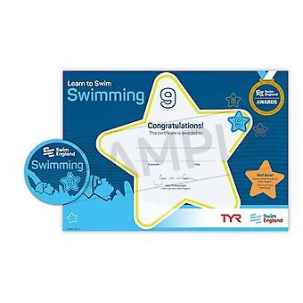 ASA zwemmen Engeland leren zwemmen Award etappe 9