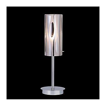 Lámpara De Escritorio Moderna Triplet Chrome