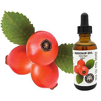 Rosehip Seed Oil - Organic, Virgin, Cold Pressed
