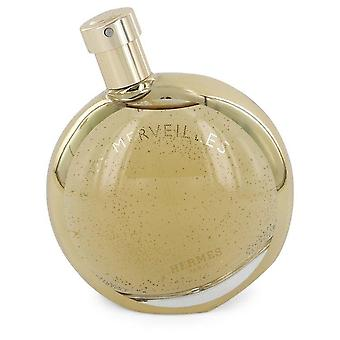 L'ambre Des Merveilles Eau De Parfum Spray (Tester) Por Hermes 3.3 oz Eau De Parfum Spray