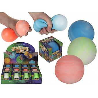 Stress Relax Squeeze Mega Ball Fidget Toy 9cm Choose Color