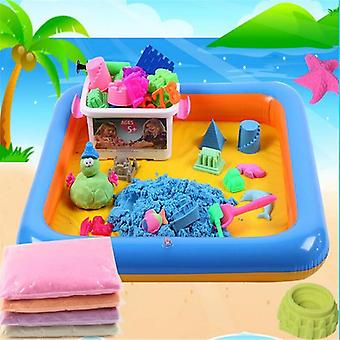Multi-function Inflatable Sand Tray Playing Sand Clay (random)