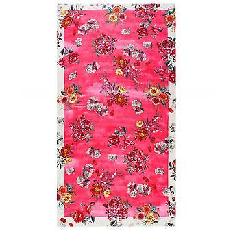 Ahujasons kwiatowy wydruku szalik