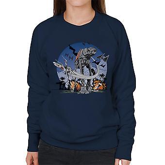 Star Wars Rogue One Battle Of Scarif Women's Sweatshirt