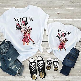 Naisten T-paita, Hiiripainatus T-paita, Vauvan toppit