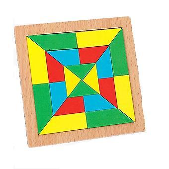 Koulutus Puzzle Peli neliön muotoinen