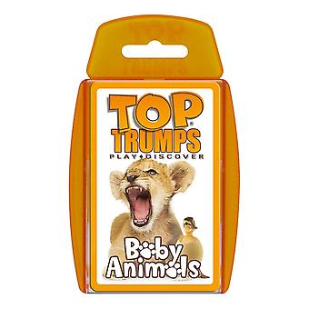 Baby Animals RB Top Trumps Card Game