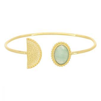 Goldenes Armband und Aventurine