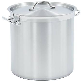 vidaXL soup pot 50 L 40×40 cm stainless steel