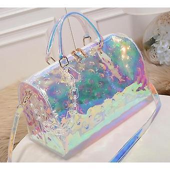 Rainbow Laser Sport Bag, Sac à main voyage femmes