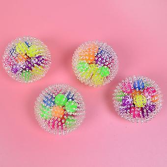 Fidget jouets balle de stress 7cm colorés mousse douce tpr squeeze balles pour le soulagement du stress et anti anxiété