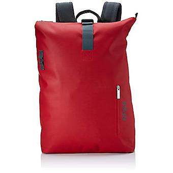 BREE Collection Punch 713, Backpack M, Unisex-Adult Shoulder Bag, Red, 15x42x34 Centimeters (B x H x T)
