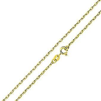 アモール - ユニセックスゴールドネックレス375、長さ45 cm