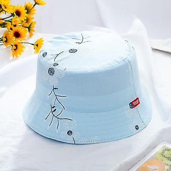 Lapset Rento Monivärinen Panama Hattu
