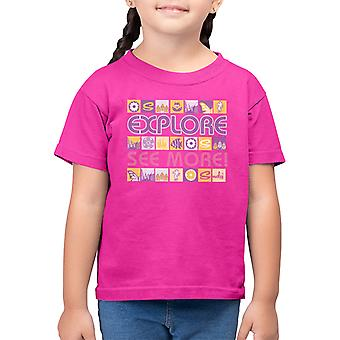 Sindy Explore See More Kid's T-Shirt