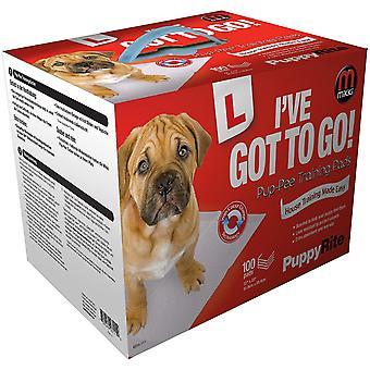 ミッキーパピーライト子犬トレーニングパッド(100パック)