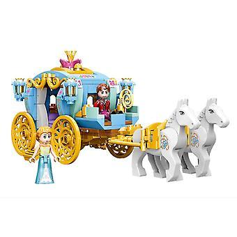Princess Castle Rakennuspalikat Puzzle Micro 3d hahmot Koulutus Tiili Lelut