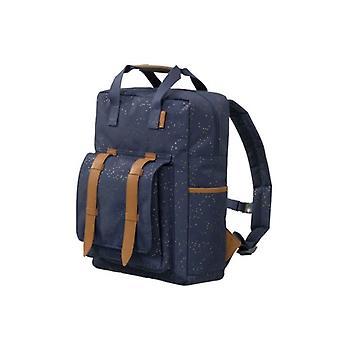 Fresk Backpack Large Indigo Dots
