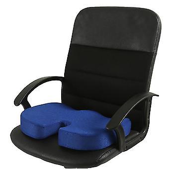 Blue memory foam seat cushion for car seats,home office & travel cushion az4117