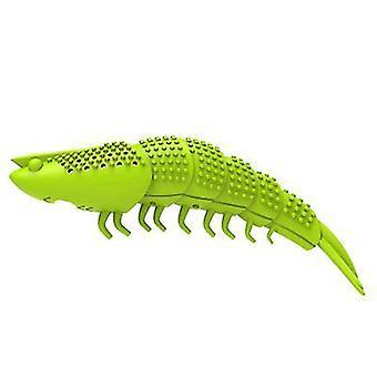 2Pcs العشب الأخضر القط جراد البحر فرشاة الأسنان، القط الجمبري الضرس az12832