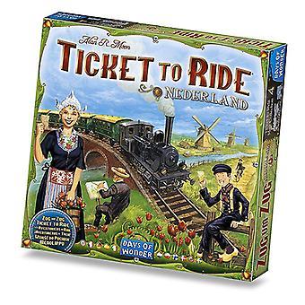 Ticket To Ride Nederland Board Game