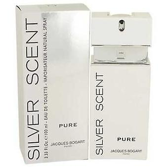 Silver Scent Pure By Jacques Bogart Eau De Toilette Spray 3.4 Oz (heren)