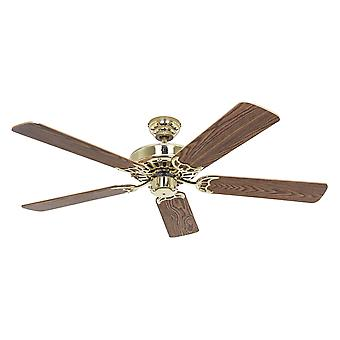 Ceiling fan Classic Royal Polished Brass