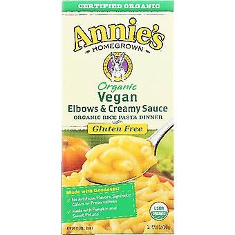 Annie's Homegrown Pasta Elbows Crmy Sce Org, Case of 12 X 6 Oz