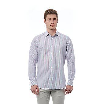 Multicolored shirt Bagutta man