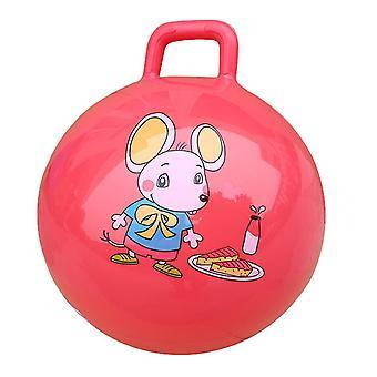 Space Hopper Ball with Pump£¬Hoppity Hippity Hop(Red)
