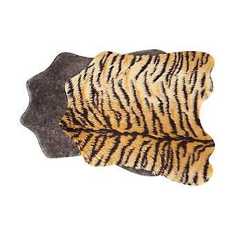 A cat mat for sleeping on a dog mat