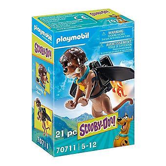 Action Figure Scooby Doo Pilot Playmobil 70711 (21 pcs)