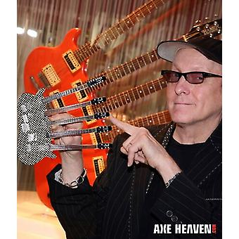 Rick Nielsen Cheap Trick Hamer 5 Neck Mini Guitar USA import