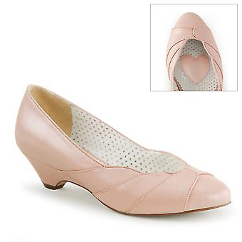 Pin Women's Shoes Up B. Pink Faux Leather