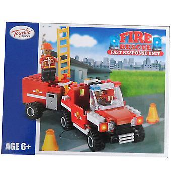 Unità di risposta veloce di Toyrific mattoni fuoco Rescue