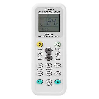 2 Pcs K-1028E Air Conditioner Remote Multi-function Lcd A/C Muli Remote Control Controller For