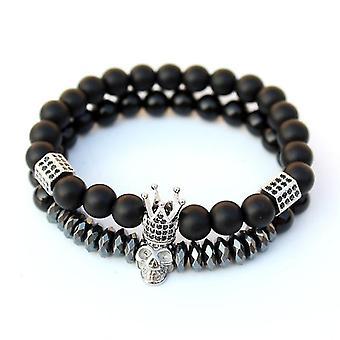 Crown smykker Mænd's armbånd