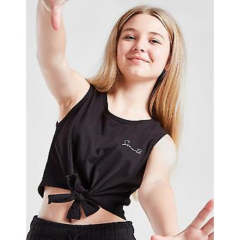 New Sonneti Girls' Essential Knot Vest Top from JD Outlet Black