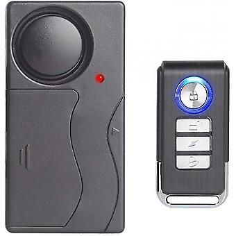 Varkaudenestohälytys pyörälle / moottoripyörälle / autolle / ajoneuvoille / ovi / ikkuna, ääni 110db (kaukosäädin)