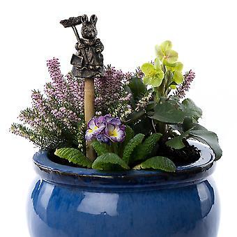 Cane Companions Beatrix Potter Hunca Munca Cane Or Stake Topper Bronze Color