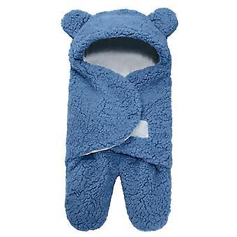 Vauvan makuupussi Erittäin pehmeä vastasyntynyt saa huopavaatteita